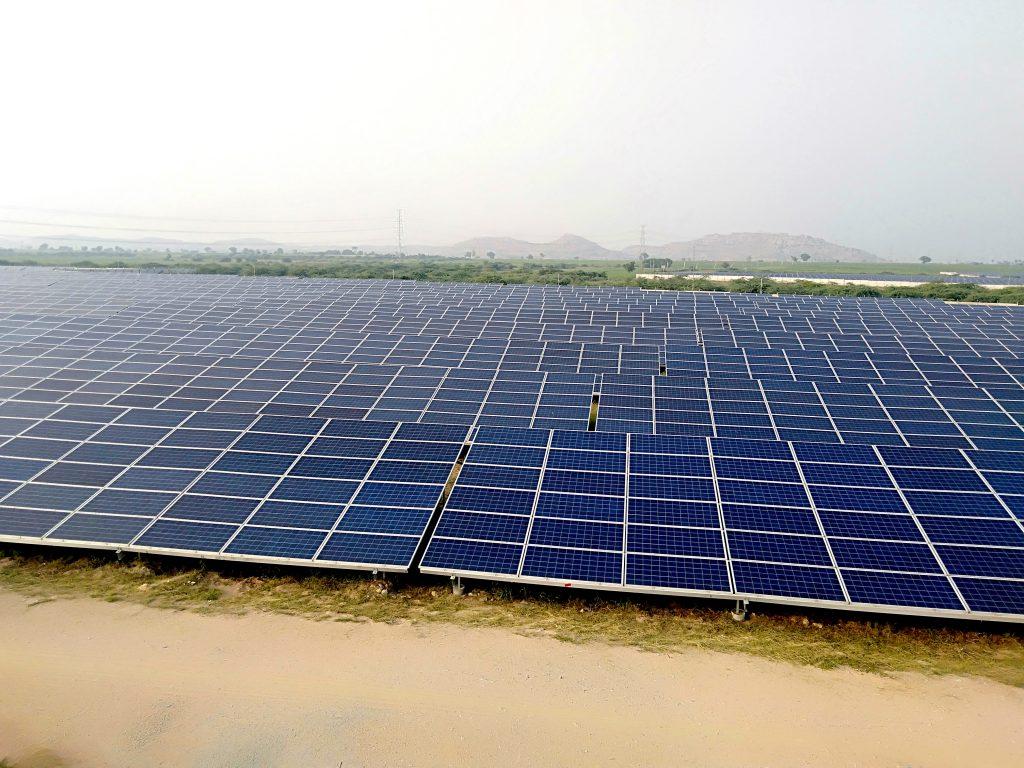 32 MW solar power plant, Bellary, Karnataka, India